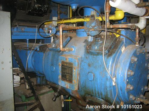 Used-Ingersoll Rand Gas Compressor. Cylinder type FSH-1, normal discharge 161 psig, rated discharge 380 psig, MAWP 440 psig ...
