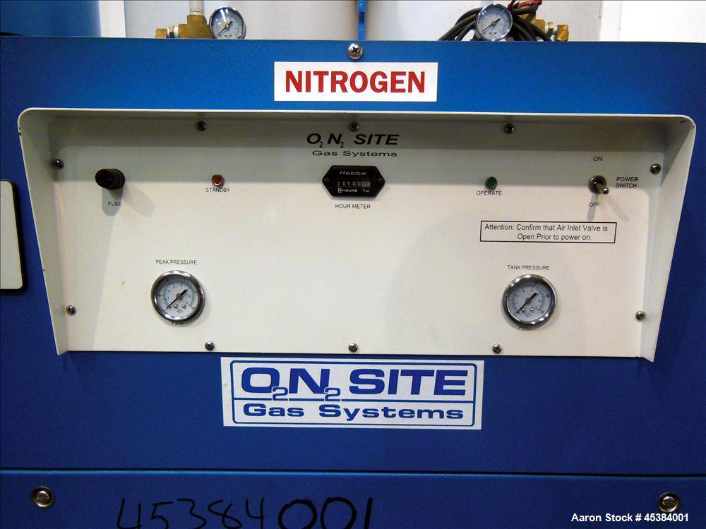 Used- On Site Gas Systems Pressure Swing Adsorption Nitrogen Generator, Model N-