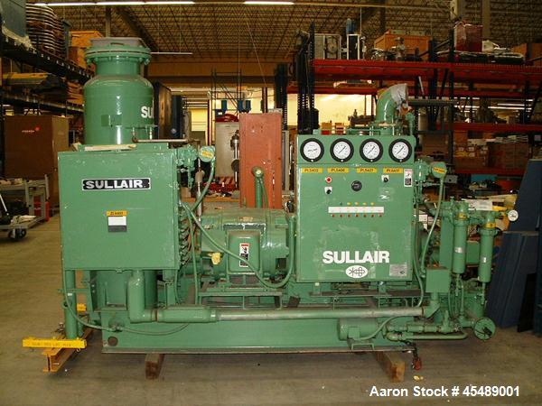 Used- Sullair Helium Compressor