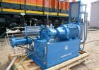 Used- Hydro-Pac Lx-Series High Pressure Hydrogen Compressor Model: C06-60-5200lx. Specifications: process gas: hydrogen (sui...