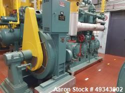 Used- Frick Reciprocating Compressor, Model 11 x 10. 4 cylinder with 300 hp synchronous motor. 480 V AC motor starter in sep...