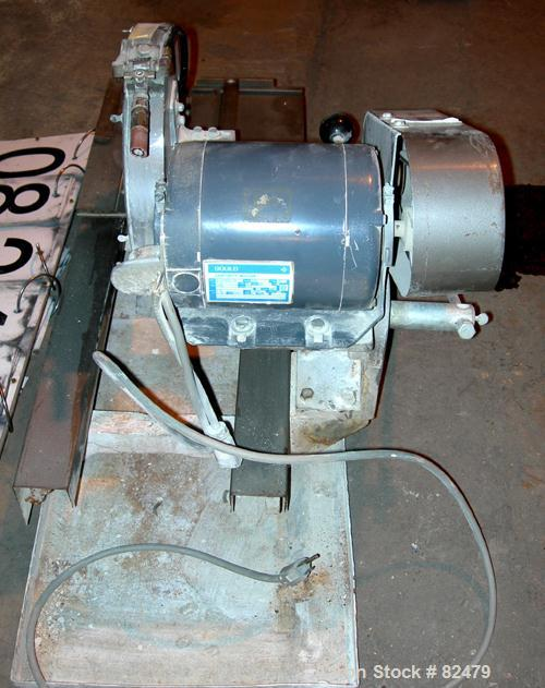 "USED: Dresser diamond wet saw, model 41A. 10"" diameter blade, 13"" x 13"" base. Driven by a 1/2 hp, 1/60/115 volt, 1725 rpm mo..."