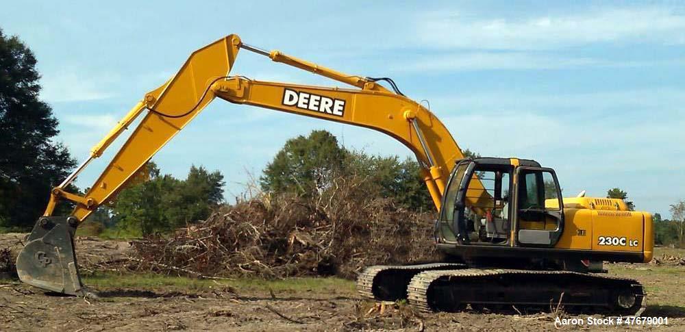 Used- John Deere 230 CLC Excavator. Mfg. 2002.