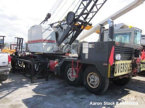 Used- Linkbelt All-Terrain Crane Truck, HC78B