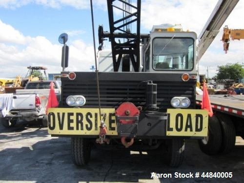 Used- Linkbelt All-Terrain Crane Truck, HC78B
