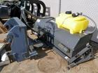 Used- Sweepster Sweeper Attachment, Model 22084MM-0987. Approxmate 84