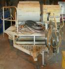 USED: Sprayforce fireproofing/plaster finishing machine, model Calibur. Includes a Wisconsin gas powered engine mixer and a ...
