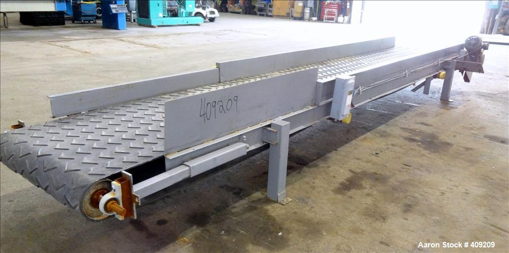 """Used- Belt Conveyor. Approximate 41-1/2"""" wide x 260"""" long."""