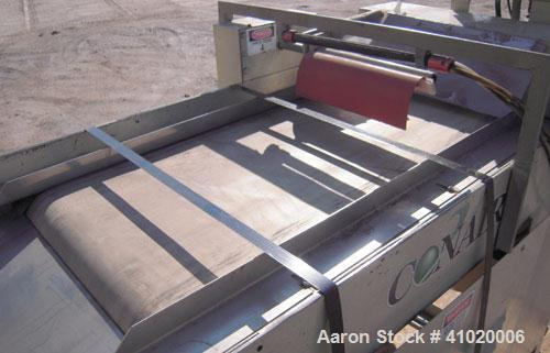 Used- Carbon Steel Conair Takeaway Conveyor, Model STC-1628