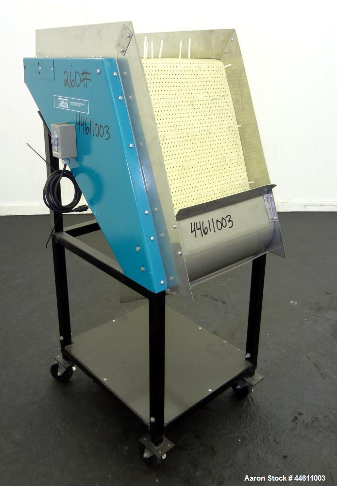 Used- LaRos Equipment Finger Separator Conveyor, Model EF-400-B-18