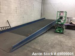 "Used- 30' x 96"" Portable Yard Ramp. Load Capacity: 16,000 lb. Model - 16SYS9630."