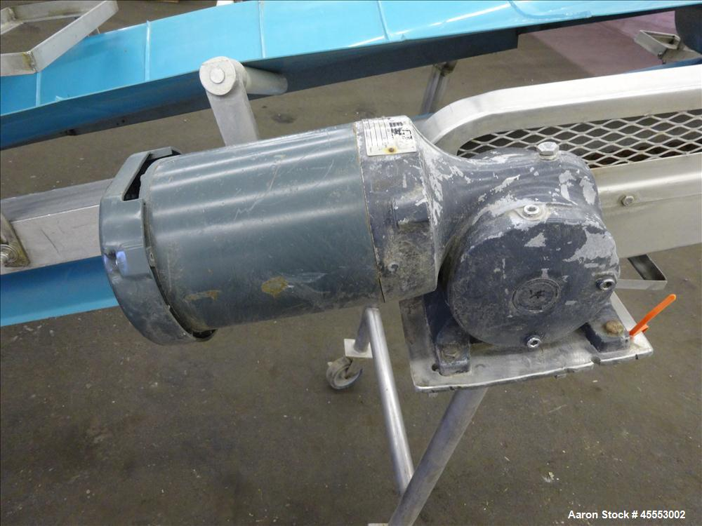 Used- Stainless Steel Phenix Equipment Co. Belt Conveyor