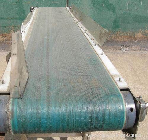 Used- Sager Incline Belt Conveyor