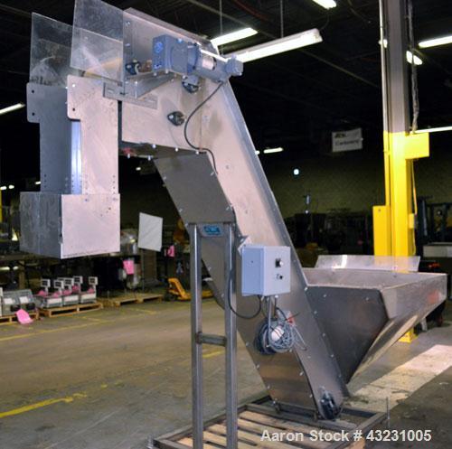 Used- Autotec RSB Bulk Elevator Feeder, Model PHE-1000-1