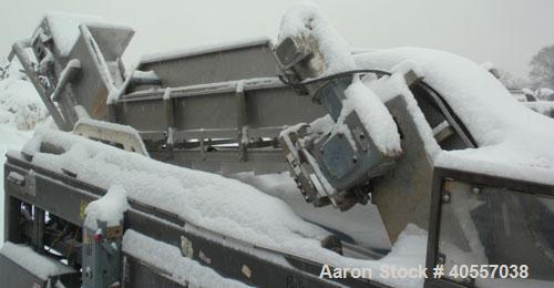 "Used- Stainless Steel Vertical ""Z"" Shaped Conveyor"