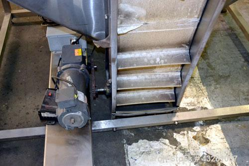 Used- Stainless Steel Bulk Elevator Feeder