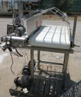 USED: Belt conveyor, stainless steel frame and sides. 20