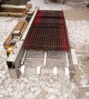 Used- Heat & Control 2 Directional Belt Conveyor, Model DSFC. 24
