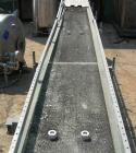 USED: Hytrol belt conveyor, model C. Rubber belt 16