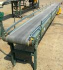 USED: Hytrol belt conveyor, model TL. Cloth belt 15-1/2