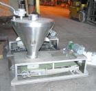 USED: Merrick weighbelt feeder, model 950, 304 stainless steel. 12
