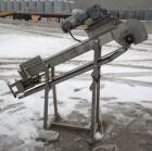 Used- Incline Belt Conveyor. 6