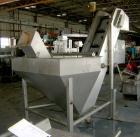 Used- Inclined Plastic Belt Conveyor. 18