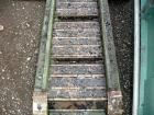 Used- Transcon Z Style Metal Cleated Belt Conveyor. 12