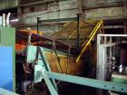 Used- L Style Metal Cleated Belt Conveyor. 84