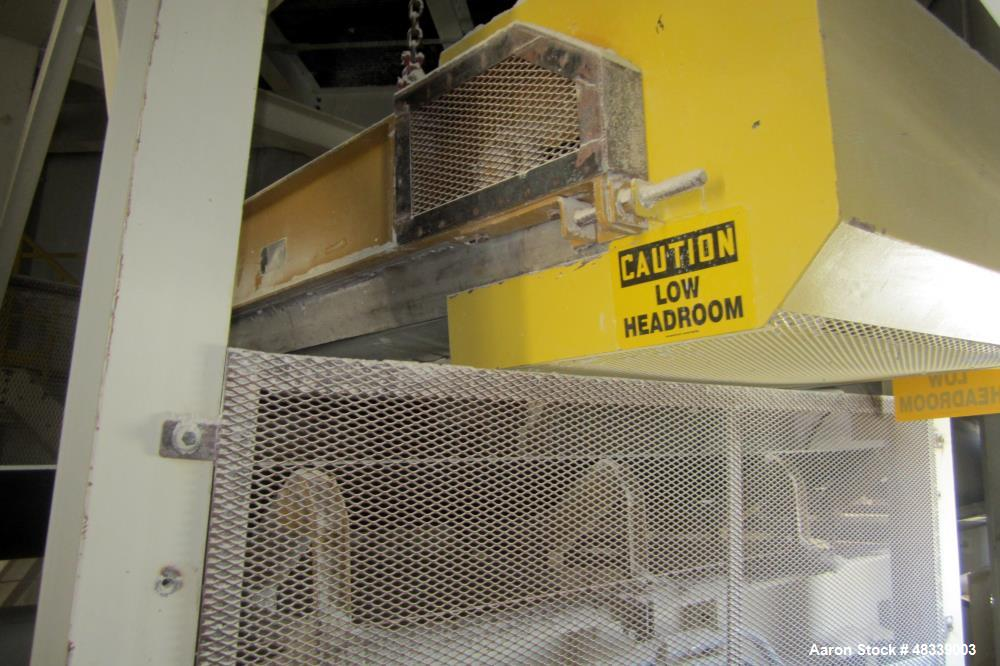 Used- Trio Engineered Products Over The Belt Magnet Collector Belt Conveyor