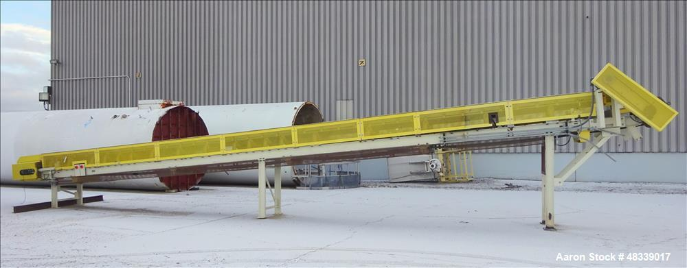 """Used- Trio Engineered Products Belt Conveyor. Approximate 24"""" wide x 575"""" long, rated 700 tons per hour. Driven by a 20hp mo..."""