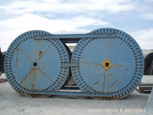 """Unused-NEW-Yokohama 60"""" Wide ST5100 22mm x 8mm Rmal Mine Duty Steel Cable Conveyor Belts (Qty 10). Each roll is 669 feet lon..."""