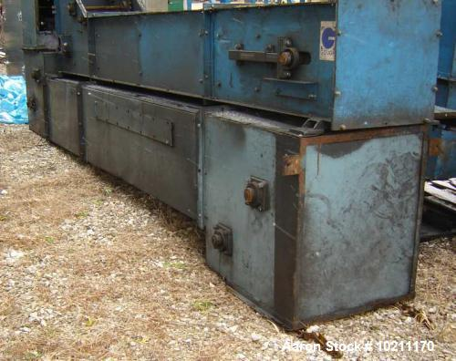Used- Bucket Conveyor, Z Type