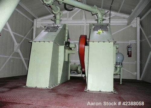 Used-  (2) Bucket Elevators Approx. 25'H With (2) 10-Hp Motors