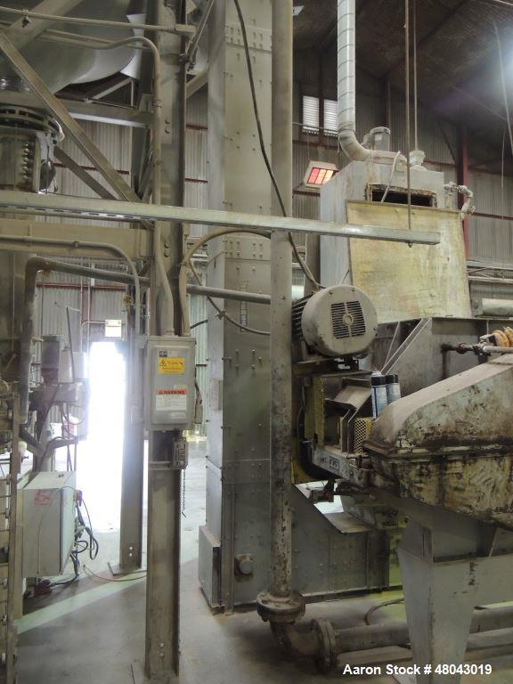 "Used- Universal El-Con,  Z-Shape Bucket Elevator Conveyor. Built by Universal Industries. Model 450Z. 78"" Bottom run x 20' c..."