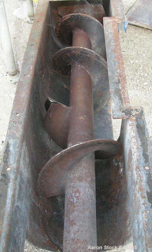 "USED: Buck El Company bucket elevator, model G4, carbon steel. Approximately (30) 12"" wide x 4"" long x 4"" deep carbon steel ..."