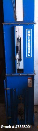 Used- Universal Industries Bucket Elevator, Model C3-175ED. 175 BPH capacity, 220 CFH flowing material. 6CMH at 75% bucket f...
