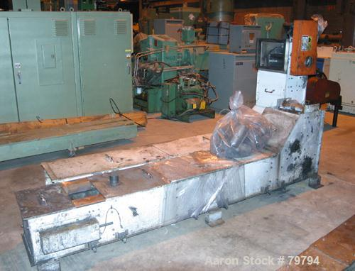 """Used- Meyer S-Type Bucket Conveying Elevator, Model PA-252-9-S, Carbon Steel Frame. 108"""" section x 112"""" section x 41"""" sectio..."""
