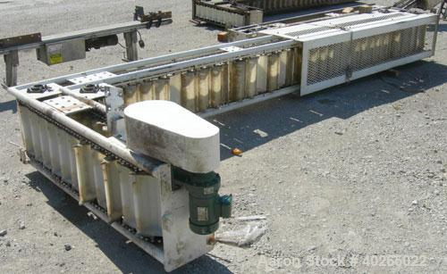 "Unused- Deamco Overlapping Bucket Elevator, Model BES-12P-T, carbon steel.  Approximately 189"" tall.  Plastic buckets 12"" lo..."