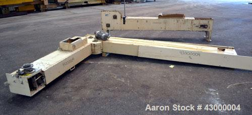 Used- RBM Conveyor Systems Bucket Elevator, Model S100-6SW-DC, Carbon Steel. Standard S design. Approximately 240 cubic feet...