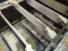 Used- KWS Drag Conveyor, Model 31WX25HX23-6, Carbon Steel. 31