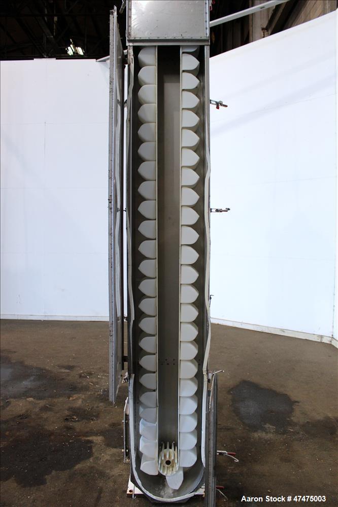 Used- Universal Industries Vertical Bucket Elevator, Model SC