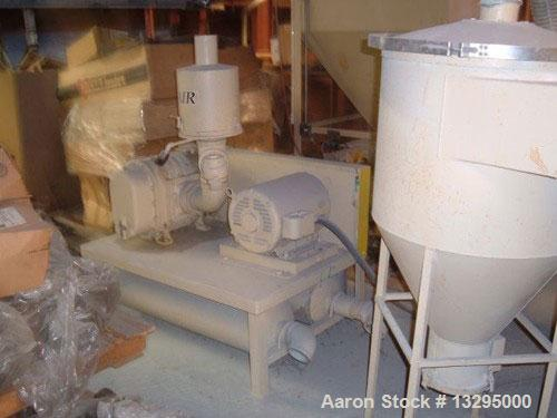USED: Conair vacuum railcar unloading system including the following: (1) Conair vacuum pump, model 108576-1, 25 hp; (1) Con...