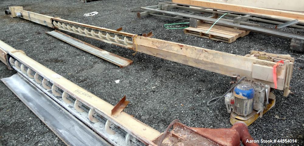 Used- Carbon Steel Drag Conveyor