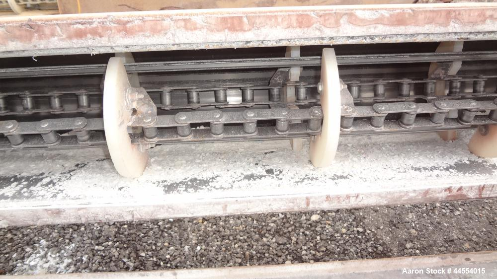 Used- Carbon Steel Drag Conveyor
