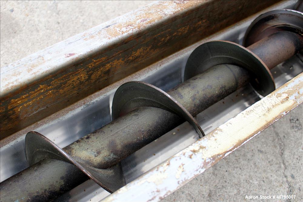Used- Screw Conveyor, Horizontal.