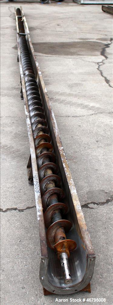 Used- Screw Conveyor, Horizontal.
