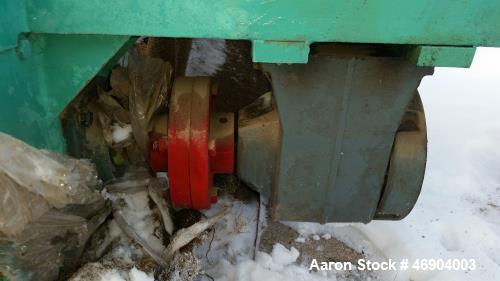 "Unused- 7' 6"" Screw Conveyor. Tube 5"" 13"" flighting 14"" trough, gear reducer 11/8 input female coupler 15HP electric motor."
