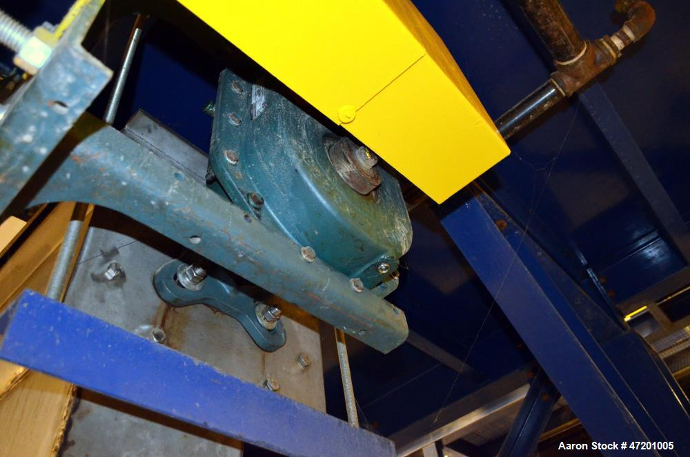 """Used- Horizontal Screw Conveyor, Stainless Steel. Approximate 12"""" diameter x 492"""" long x 6"""" pitch screw. Trough approximate ..."""