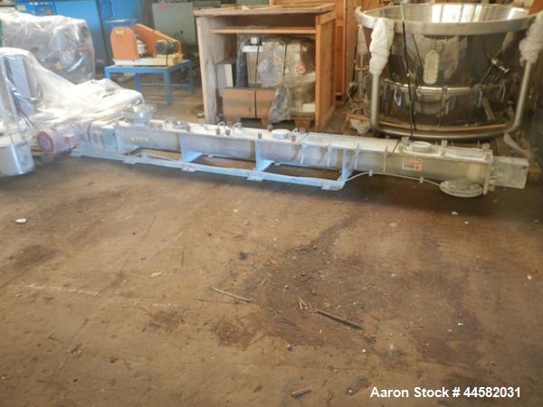 Used- Stainless Steel Acrison Screw Conveyor